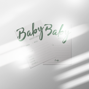 Babyshowerkaarten